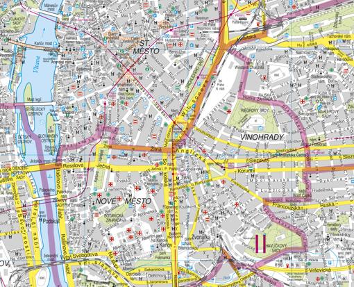 Nastenna Mapa Praha Nastenne Mapy Cz